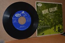 LARS GULLIN QUINTETTE: MORE GULLIN!; RARE 1955 EMARCY 45 EP & CARDBOARD COVER