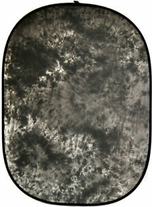 5x6.5 ft Photo Studio Hand Dyed Grey Video Backdrop Photography Background Panel