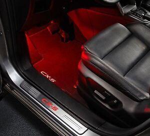 Genuine Mazda 2,3,6,MX-5,CX-3,CX-5,CX-7 2005- Red Welcome Illumination Light Kit