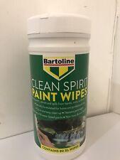 bartoline Clean Spirit Paint Wipes 80XL