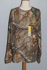 New REALTREE Xtra Shirt Mens Long Sleeve T-Shirt M or L Hunting Camo
