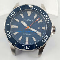 45mm Watch Case+Blue Dial+Watch Hands Fit Miyota 8205/8215 Movement P763-1#