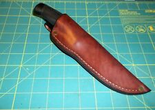 Custom Leather Knife Sheath Fit MORA Companion RH Belt, Friction Fit, Form Fit