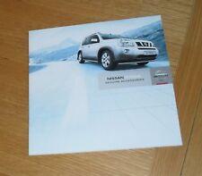 Nissan X-Trail Genuine Accessories Brochure 2007