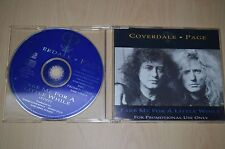 Coverdale Page – Take Me For A Little While. CDEMDJ270 CD-Single promo