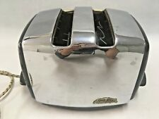 Sunbeam Toastermatic Vintage 2 Slice Toaster Automatic Chrome AT-35 Australia