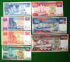 Circulated Singapore Ship Series Paper Currency Note