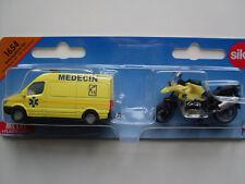 Mercedes-benz Sprinter moto BMW set Ambulance Medecin France 1654 siku 1 55