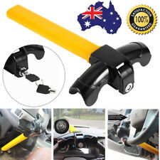 Universal Heavy Duty Car Steering Wheel T Type Anti-theft Lock With 2 Keys AU