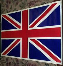 1983 BRITISH FLAG Union Jack Velvet Blacklight Poster