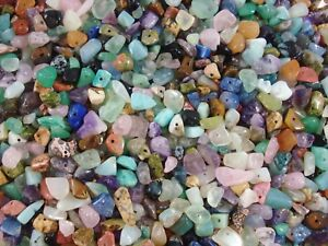 Gemstone Chips 1kg Mix Bulk Pack 4000pc Beads Jewellery Necklace FREE POSTAGE