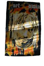 Vintage Bootleg Kurt Cobain Nirvana Banner Poster Flag
