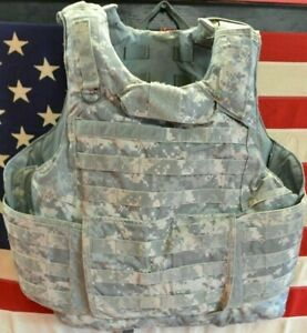 ARMY ACU DIGITAL PLATE CARRIER SIZE LARGE WITH KEVLAR INSERTS 8470-01-551-7706