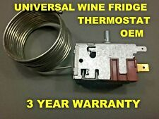 WINE FRIDGE THERMOSTAT COOLER CELLAR REFRIGERATOR  OEM UNIVERSAL DANFOSS 077B