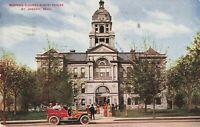 Postcard Berrien County Court House St Joseph Michigan