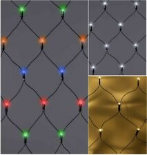 180 / 360 LED Net Lights String Fairy Window Curtain Wedding Party Xmas TIMER