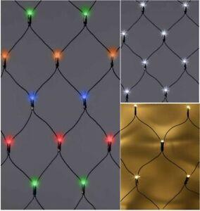 180 / 360 LED Net Lights String Fairy Window Curtain Wedding Party Xmas TIMER
