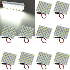 10 X Pure White 48-LED 3528 SMD  Bulbs light Panel 12V DC / No Adapter