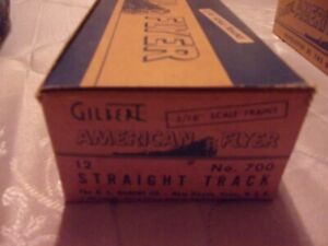 American Flyer 700 Box of Straight Track