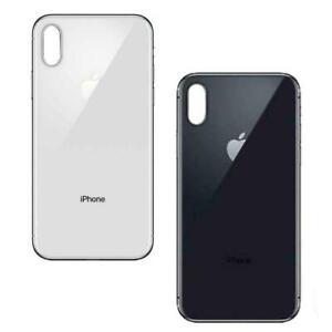 For iPhone X Back Rear Glass Housing Battery Cover Big Hole Replacement UK Stock