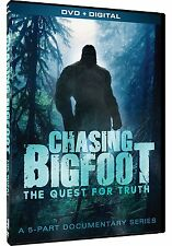 Chasing Bigfoot: The Quest for Truth-5 Part Documentary Series DVD/Box Set NEW!