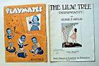 Vintage Sheet Music  Lilac Tree  Gartlan  1920   Playmates  Saxie Dowell  1940