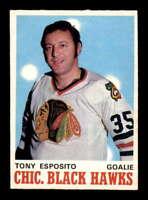 1970 O-Pee-Chee #153 Tony Esposito  NM X1482722