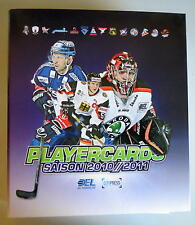 DEL 2010/11 Playercardsordner - alle Teams inklusive Update 397 Karten in Hüllen