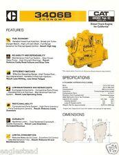 Equipment Brochure - Caterpillar - 3406B Econony - Truck Engine - 1984 (EB676)