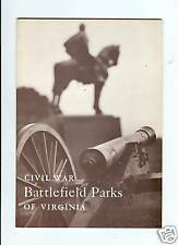 Vintage Civil War Battlefield Parks Of Virginia