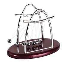 NEW Newtons Ball Cradle Toy Balance Physics Pendulum Science Desk Office Classic