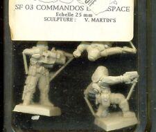 FENRYLL 1  BLISTER SF03 COMMANDOS DE L'ESPACE