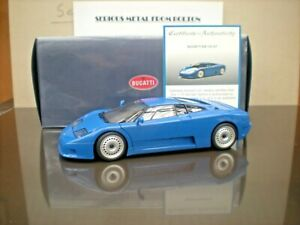 AUTOART 70976 1992 'BUGATTI' EB 110 GT 1992 BLUE  1:18