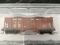 ATLAS 1/160 N Canadian National GLA 2 Bay Hopper Car Rd #117383 Item # 37742 F/S