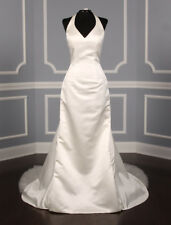 New, Authentic St. Pucchi Lillian Z293 Wedding Dress Couture Halter Fit Flare 4