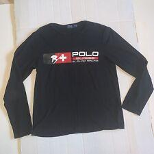 Polo Ralph Lauren RL Suisse Downhill Slalom Medium Long Sleeve Shirt