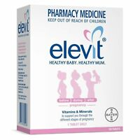 ツ ELEVIT WITH IODINE PREGNANCY VITAMINS & MINERALS 100 TABLETS HEALTHY STAGES