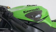 R&G Racing Carbon Fibre Tank Sliders for KAWASAKI ZX6-R 636 2013 to 2017