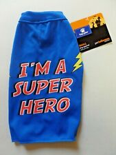 "Top Paw Small Pet Halloween Collection Dog Costume ""I'm A Super Hero"" Cape NEW"