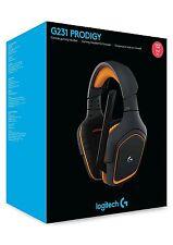 Logitech G231 Auriculares de diadema prodigio Negro