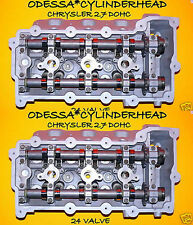 2 DODGE CHRYSLER INTREPID CONCORDE 300 STRATUS LHS 2.7 DOHC CYLINDER HEADS 24V