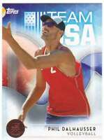 2016 Topps US Olympic Team USA Bronze #56 Phil Dalhausser  Volleyball