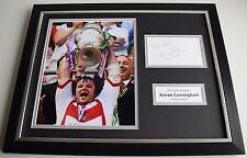 Keiron Cunningham SIGNED FRAMED Photo Autograph 16x12 display St Helens & COA