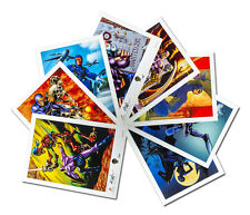"THE PHANTOM - Regal Art 12"" x 9"" Complete Print Set (8) by Intrepid #119/150"
