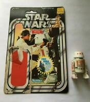 Star Wars Vintage R5-D4 COMPLETE with 20G UNCUT Cardback FREE BOBA FETT OFFER