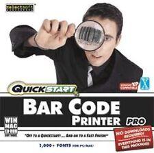 QuickStart Bar Code Printer Pro  New Sealed XP Vista 7 8   Easy to Use