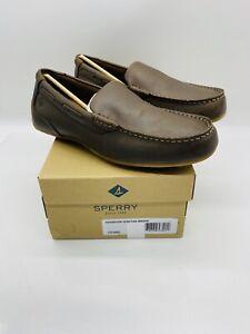 Sperry Men's Navigator Venetian Slip On Loafer Driving Moccasins Brown
