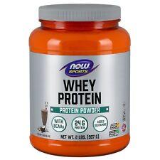 NOW Foods Whey Protein Creamy Chocolate, 2 lb Powder