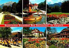 Bad Reichenhall-nel Kurpark, cartolina andato;