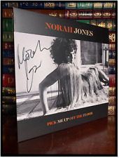 Pick Me Up Off The Floor ✎SIGNED♫ by NORAH JONES New Limited Black & White LP